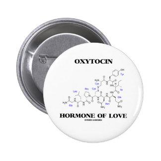 Hormona de la oxitocina del amor química pin
