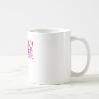 Hormonally Challenged Pink Coffee Mug