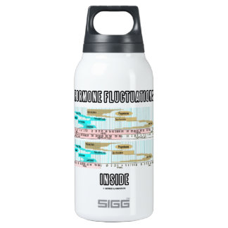 Hormone Fluctuations Inside (Menstrual Cycle) Insulated Water Bottle