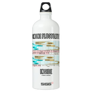 Hormone Fluctuations Inside (Menstrual Cycle) Water Bottle