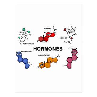 Hormones Postcards