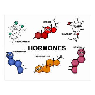 Hormones Post Card