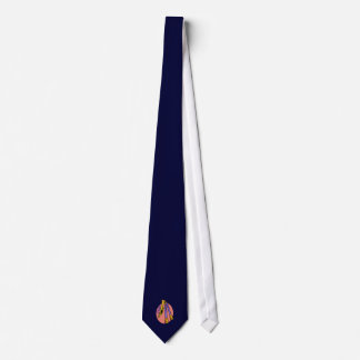 Horn and Two Woodwind Instruments Design Neck Tie