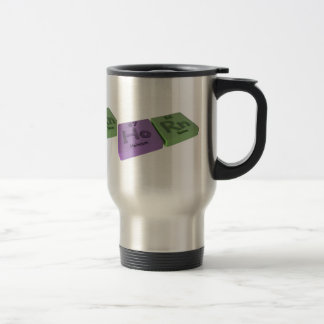 Horn as Ho Holmium and Rn Radon Travel Mug