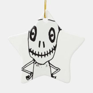 Horn Ceramic Ornament