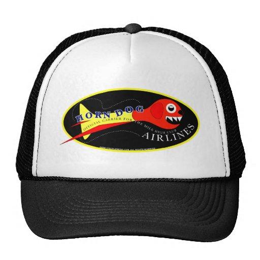 HORN DOG_CAP TRUCKER HAT