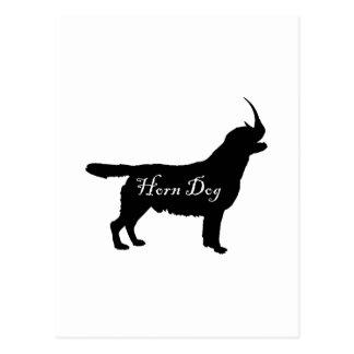Horn Dog Postcard