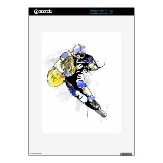 horn football decals for iPad