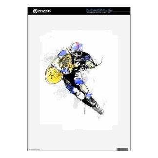 horn football iPad 2 decal