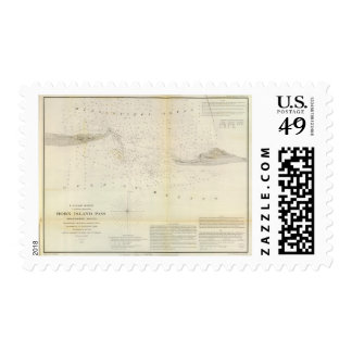 Horn Island Pass Postage Stamp