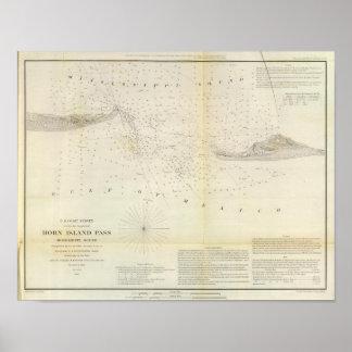 Horn Island Pass Print