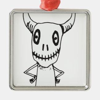 Horn Metal Ornament