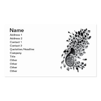 Horn_Music Double-Sided Standard Business Cards (Pack Of 100)