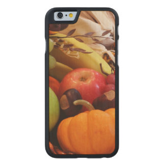 Horn Of Plenty Carved Maple iPhone 6 Case