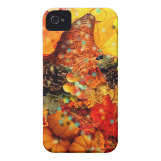 Horn of plenty in Thanksgiving Case-Mate iPhone 4 Case