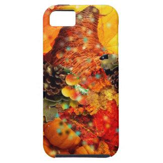 Horn of plenty in Thanksgiving iPhone SE/5/5s Case