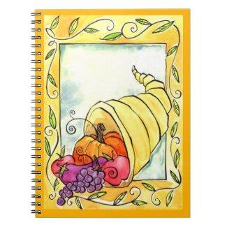 Horn Of Plenty Notebook