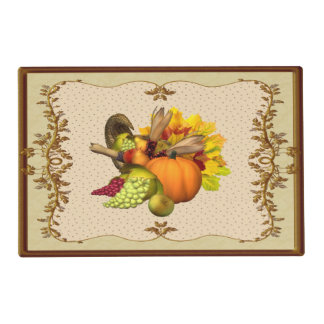 Horn of Plenty Thanksgiving Placemat