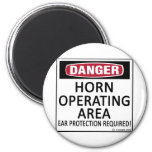 Horn Operating Area 2 Inch Round Magnet