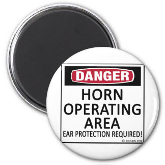 Horn Operating Area Refrigerator Magnets