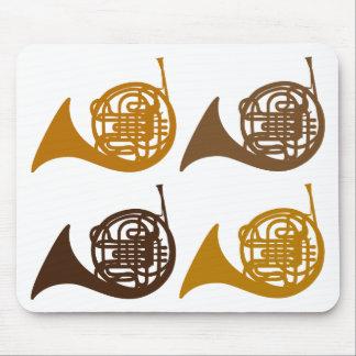 Horn Quartet 4 horn Mouse Pads
