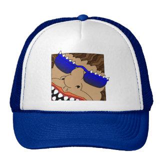 HORN RIMMED MANSTER TRUCKER HATS