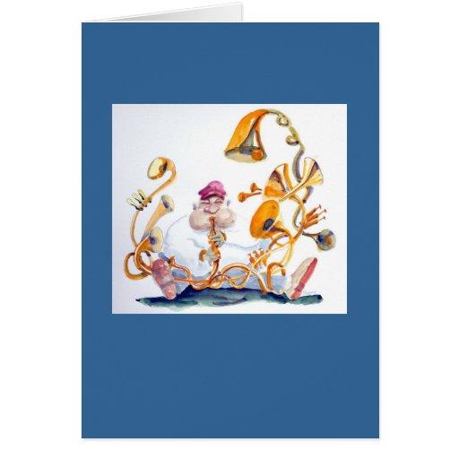 Horn Section card
