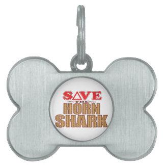 Horn Shark Save Pet Tag