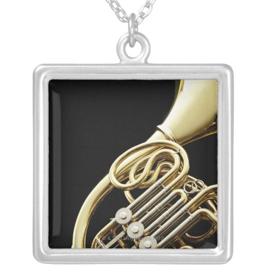 Horn Silver Plated Necklace