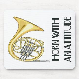 Horn With An Attitude Mousepad