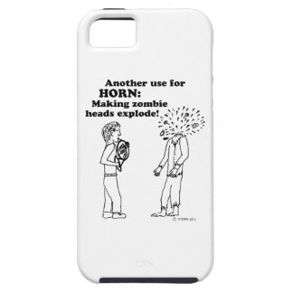 Horn Zombie Explode iPhone SE/5/5s Case