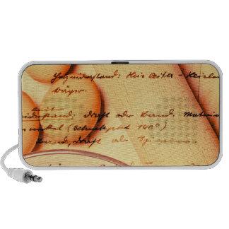 Hornada del vintage iPod altavoz