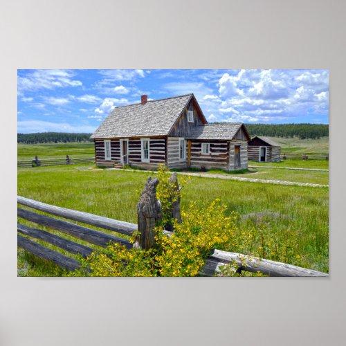 Hornbek Homestead, Florissant, Colorado Poster