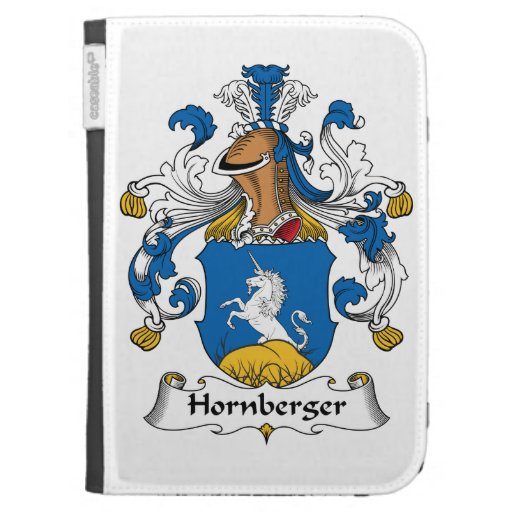 Hornberger Family Crest Kindle 3 Cover