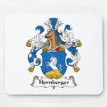 Hornberger Family Crest Mouse Pads