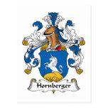Hornberger Family Crest Postcards
