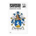 Hornberger Family Crest Stamps