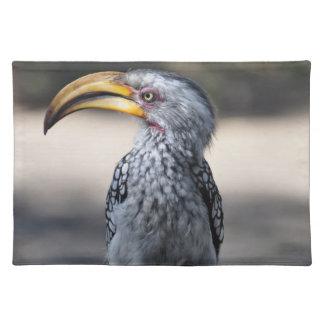 Hornbill Bird Cloth Placemat