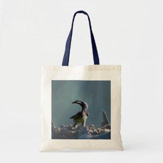 Hornbill bird Warrior spirit Tote Bag