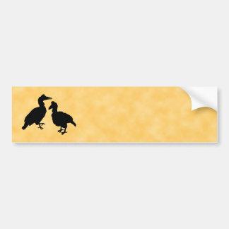 Hornbill Birds Bumper Sticker