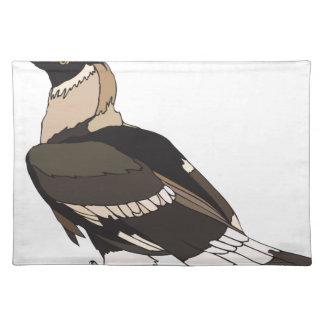 hornbill cloth placemat
