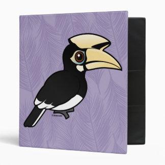 "Hornbill de varios colores oriental carpeta 1"""