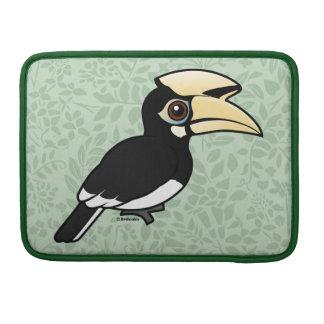 Hornbill de varios colores oriental fundas para macbook pro