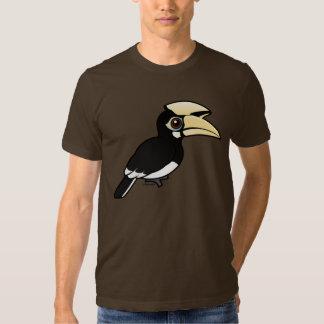 Hornbill de varios colores oriental remera