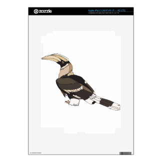hornbill iPad 3 decal