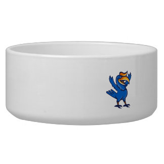 Hornbill Open Arms Full Body Cartoon Bowl