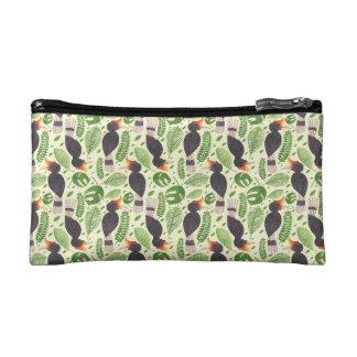Hornbill the Tropical Bird Cosmetic Bag