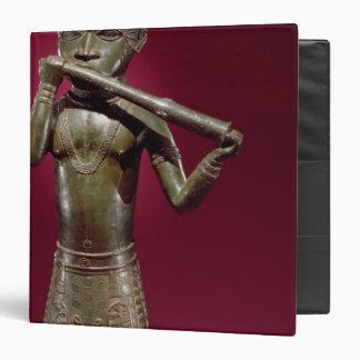 "Hornblower, de Benin, Nigeria Carpeta 1 1/2"""