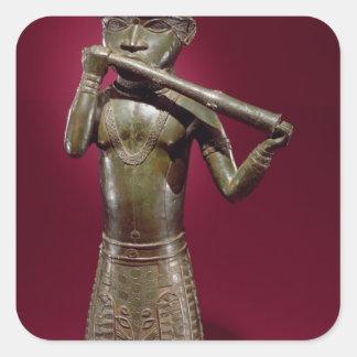 Hornblower, de Benin, Nigeria Colcomanias Cuadradas Personalizadas