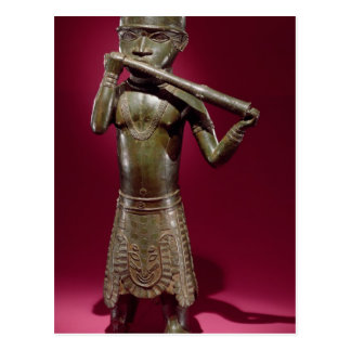 Hornblower, from Benin, Nigeria Postcard